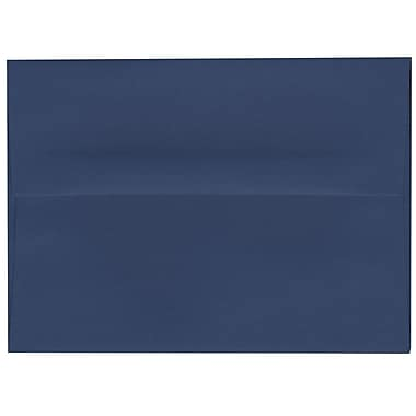 JAM Paper® A6 Invitation Envelopes, 4.75 x 6.5, Presidential Blue, 250/Pack (563916906H)