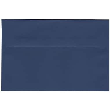 JAM Paper – Enveloppes A9 simples, bleu présidentiel, 250/paquet