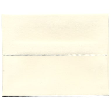 JAM Paper® A2 Invitation Envelopes, 4.38 x 5.75, Strathmore Natural White Wove, 250/Pack (5TTW613H)