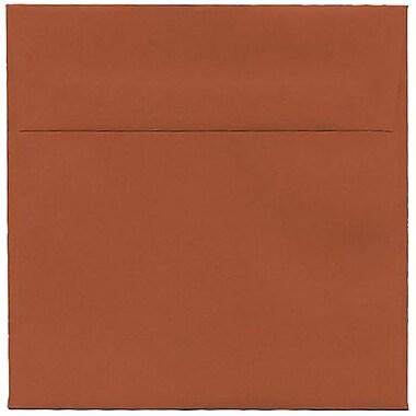 JAM Paper – Enveloppes simples carrées, 6 x 6 po, orange foncé, 250/paquet