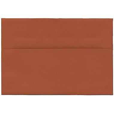 JAM Paper Enveloppes A8 simples foncées, orange foncé, 250/paquet