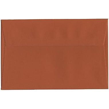 JAM Paper – Enveloppes A9 simples, orange foncé, 250/paquet