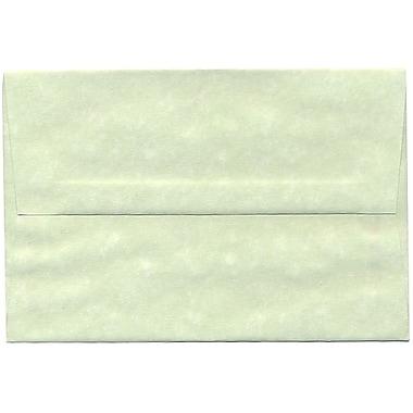 JAM Paper – Enveloppe A8 en papier recyclé, parchemin vert, 250/paquet