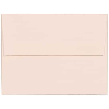 JAM Paper® A2 Invitation Envelopes, 4.38 x 5.75, Strathmore Bright White Linen, 250/Pack (66670H)
