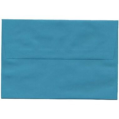 JAM Paper – Enveloppes A8 en papier recyclé, bleu-vert, 250/paquet