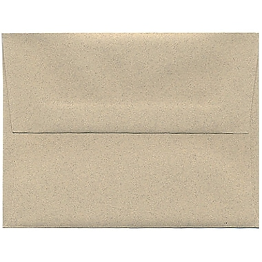 JAM Paper® A2 Invitation Envelopes, 4.38 x 5.75, Sandstone Ivory Recycled, 250/Pack (71144H)
