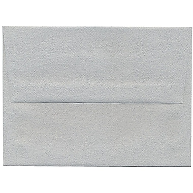 JAM Paper® A6 Invitation Envelopes, 4.75 x 6.5, Granite Grey Recycled, 250/Pack (71185H)