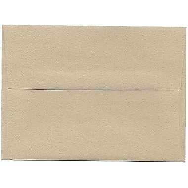 JAM Paper® A6 Invitation Envelopes, 4.75 x 6.5, Sandstone Ivory Recycled, 250/Pack (71201H)
