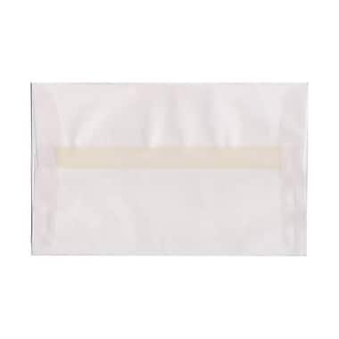 JAM Paper – Enveloppes A9 en papier vélin translucide, incolores, 250/paquet