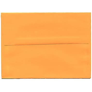 JAM Paper® A6 Invitation Envelopes, 4.75 x 6.5, Brite Hue Ultra Orange, 250/Pack (80344H)