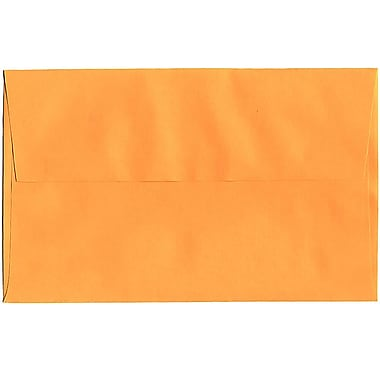 JAM Paper® A10 Invitation Envelopes, 6 x 9.5, Brite Hue Ultra Orange, 50/pack (80377I)