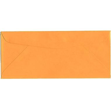 JAM Paper® #10 Business Envelopes, 4 1/8 x 9.5, Brite Hue Ultra Orange, 500/Pack (80401H)