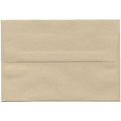 JAM Paper® A8 Invitation Envelopes, 5.5 x 8.125, Sandstone Ivory Recycled, 250/box (83728H)