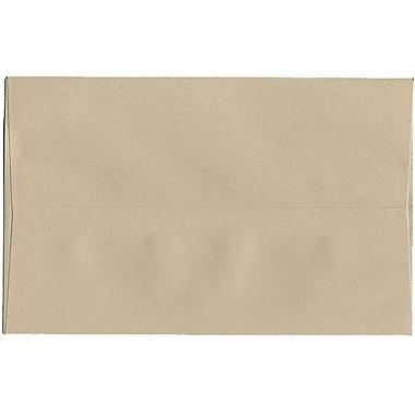 JAM Paper – Enveloppes A10 en papier recyclé format passeport, grès, 250/paquet