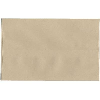 JAM Paper® A10 Invitation Envelopes, 6 x 9.5, Sandstone Ivory Recycled, 250/box (83736H)