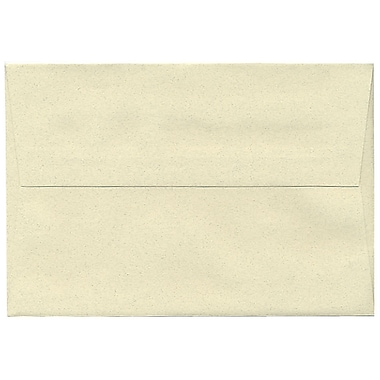 JAM Paper® A8 Invitation Envelopes, 5.5 x 8.125, Gypsum Ivory Recycled, 250/box (83785H)