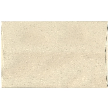 JAM Paper® A10 Invitation Envelopes, 6 x 9.5, Gypsum Ivory Recycled, 250/box (83793H)