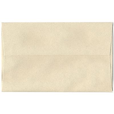 JAM Paper® A10 Invitation Envelopes, 6 x 9.5, Gypsum Ivory Recycled, 250/box (83793H)