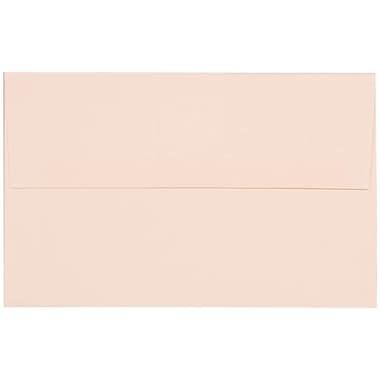 JAM Paper – Enveloppes Strathmore A10, fini vergé blanc éclatant, 250/paquet