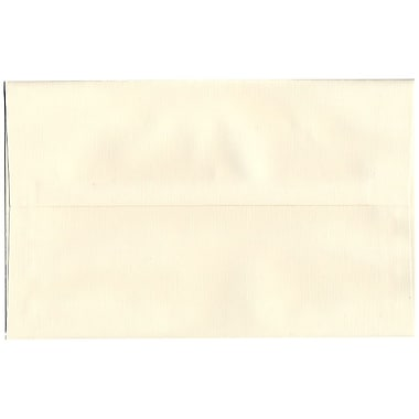 JAM Paper – Enveloppes recyclées A10, fini toilé blanc naturel, 250/paquet