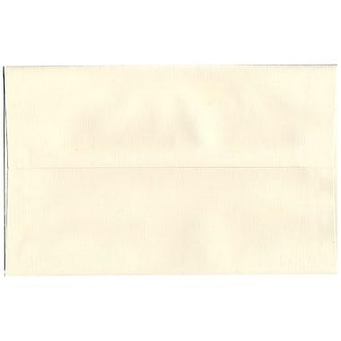 JAM Paper® A10 Invitation Envelopes, 6 x 9.5, Strathmore Natural White Linen, 250/box (900789414H)