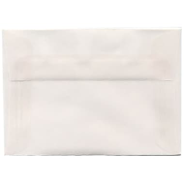 JAM PaperMD – Enveloppes translucides A1, incolore, 50/paquet