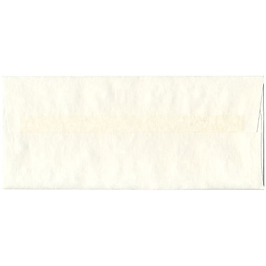 JAM Paper® #10 Business Envelopes, 4 1/8 x 9 1/2, Parchment White Recycled, 25/pack (900829012)