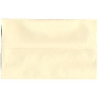 JAM Paper – Enveloppes Strathmore A10, vélin ivoire, 250/paquet