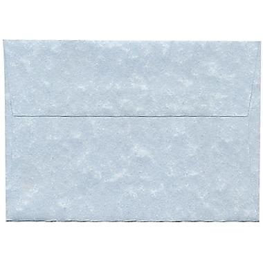 JAM Paper – Enveloppes A1 en papier recyclé, papier parchemin bleu, 250/paquet