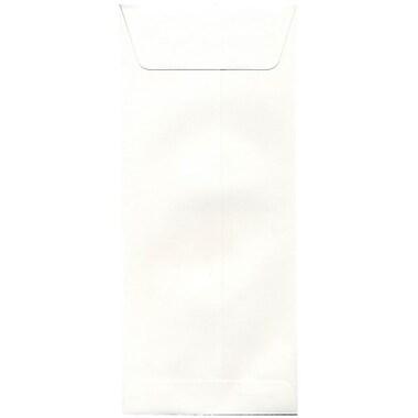 JAM Paper – Enveloppes commerciales Strathmore no 14, 5 x 11,5 po, vélin blanc naturel, 500/paquet