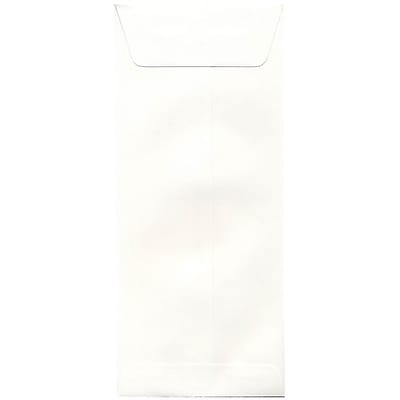 JAM Paper® #14 Policy Envelopes, 5 x 11.5, Strathmore Bright White Wove, 50/pack (900905924I)