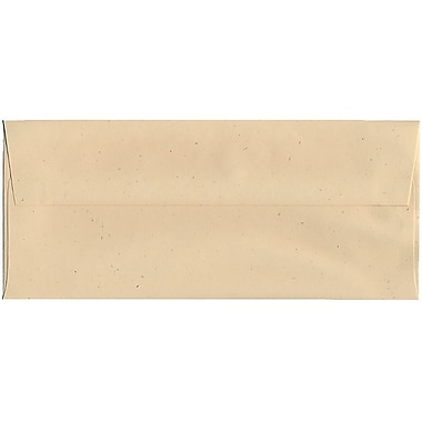 JAM Paper® #10 Business Envelopes, 4 1/8 x 9 1/2, Husk Brown Recycled, 500/box (900909507H)