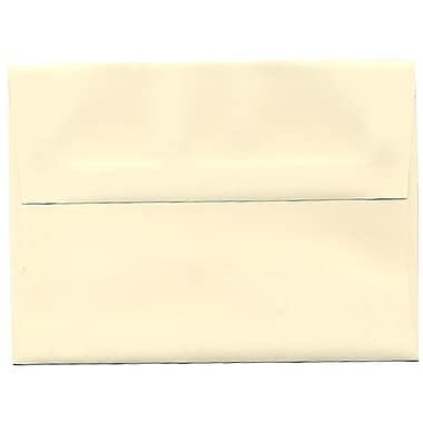 JAM Paper® A6 Invitation Envelopes, 4.75 x 6.5, Strathmore Ivory Wove, 250/Pack (900913185H)