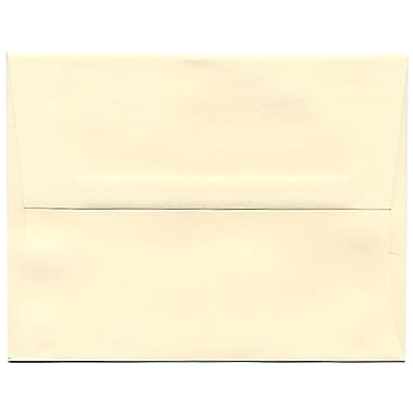 JAM Paper® A2 Invitation Envelopes, 4 3/8 x 5 3/4, Strathmore Ivory Wove, 50/pack (900919415I)