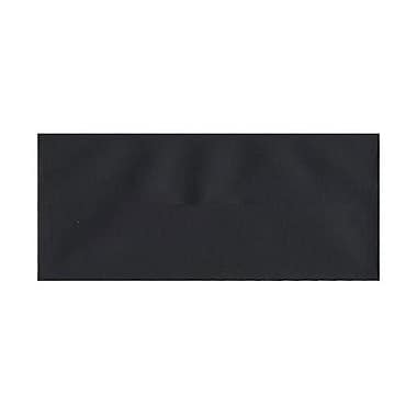 JAM Paper® #10 Business Envelopes, 4 1/8 x 9.5, Black Linen Recycled, 500/Pack (900921796H)