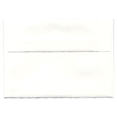 JAM Paper – Enveloppes Strathmore A1, papier vélin blanc brillant, 250/paquet