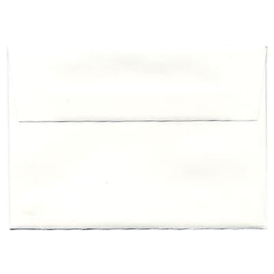 JAM Paper® 4bar A1 Envelopes, 3 5/8 x 5 1/8, Strathmore Bright White Wove, 50/pack (900928601I)