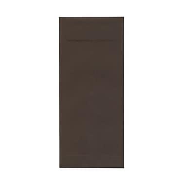 JAM Paper – Enveloppes recyclées nº 14 (5 x 11,5 po), brun chocolat, 500/bte
