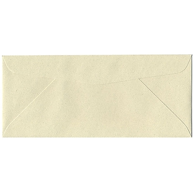 JAM Paper® #10 Business Envelopes, 4 1/8 x 9 1/2, Gypsum Recycled, 50/pack (9222I)