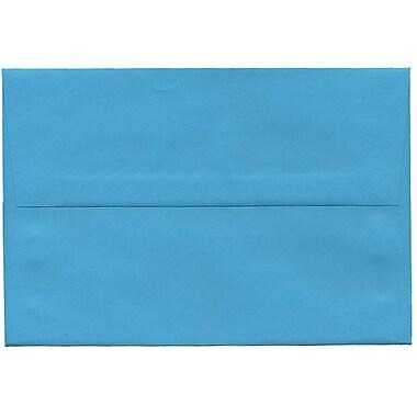 JAM Paper – Enveloppes A8 en papier recyclé, bleu, 250/paquet