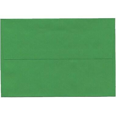 JAM Paper – Enveloppes A8 en papier recyclé, vert, 250/paquet