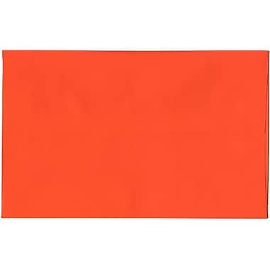 JAM Paper – Enveloppes A10 en papier recyclé orange, 250/paquet