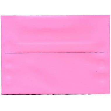 JAM Paper® A7 Invitation Envelopes, 5.25 x 7.25, Brite Hue Ultra Pink, 250/Pack (96268H)