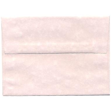 JAM PaperMD – Enveloppes en papier recyclé format A6, effet parchemin, rose glacé, paq./250
