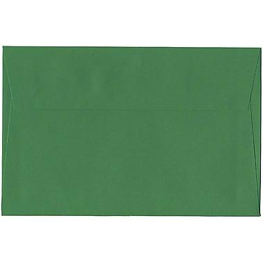 JAM Paper – Enveloppes A9 en papier recyclé, vert, 250/paquet