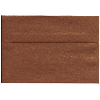 JAM Paper® A8 Invitation Envelopes, 5.5 x 8.125, Stardream Metallic Copper, 50/Pack (9844I)