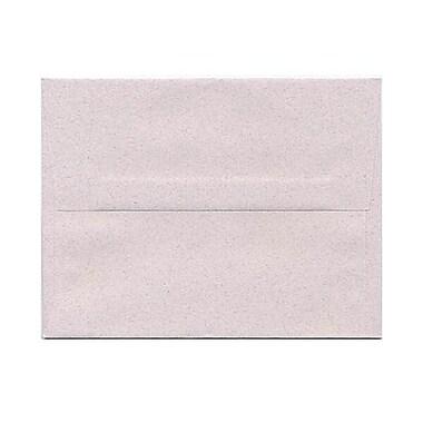 JAM Paper® A2 Invitation Envelopes, 4 3/8 x 5 3/4, Rose Quartz Pink Recycled, 50/pack (CPPT613I)