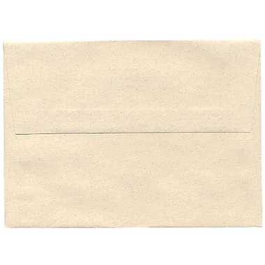 JAM Paper – Enveloppes A7 en papier recyclé, format passeport, gypse, 250/paquet