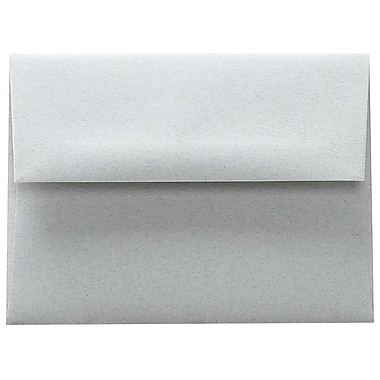 JAM Paper® A2 Invitation Envelopes, 4.38 x 5.75, Granite Grey Recycled, 250/Pack (CPST605H)