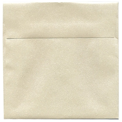 JAM Paper® 6 x 6 Square Envelopes, Stardream Metallic Opal, 50/pack (GCST500I)